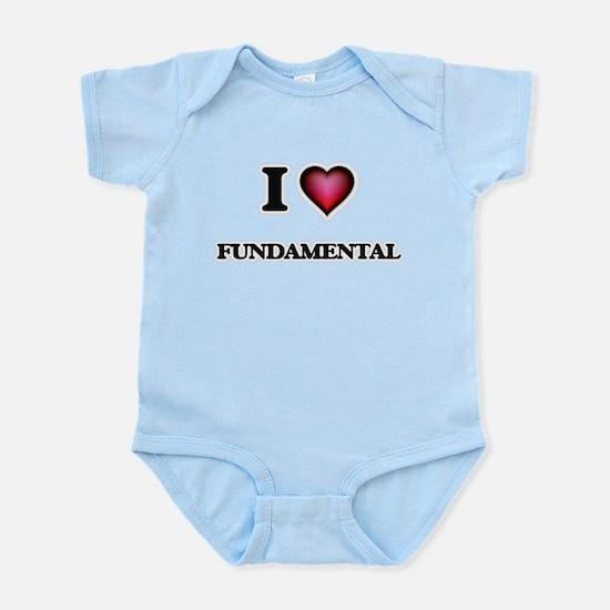 I love Fundamental Body Suit