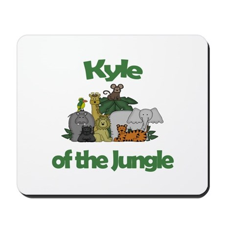 Kyle of the Jungle Mousepad