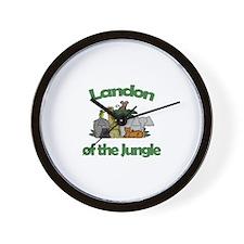 Landon of the Jungle  Wall Clock