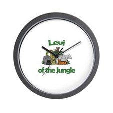 Levi of the Jungle  Wall Clock
