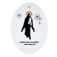 Divine Intervention Oval Ornament