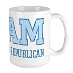 Team Anti Republican Large Mug