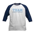 Team Anti Republican Kids Baseball Jersey