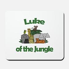 Luke of the Jungle Mousepad