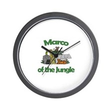 Marco of the Jungle  Wall Clock