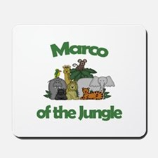 Marco of the Jungle Mousepad