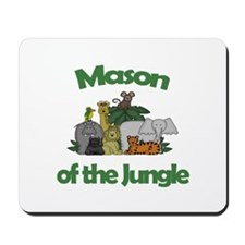 Mason of the Jungle Mousepad