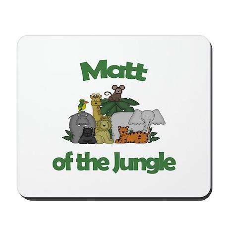 Matt of the Jungle Mousepad