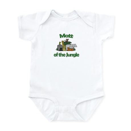 Matt of the Jungle Infant Bodysuit