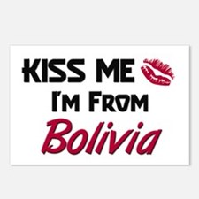 Kiss Me I'm from Bolivia Postcards (Package of 8)