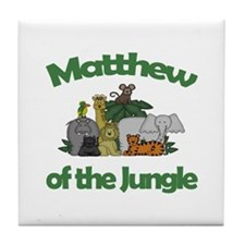 Matthew of the Jungle  Tile Coaster