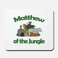 Matthew of the Jungle Mousepad