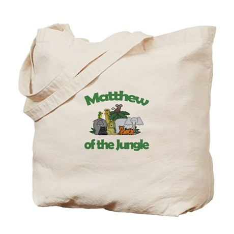 Matthew of the Jungle Tote Bag