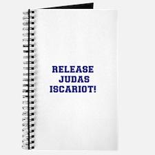 RELEASE JUDAS ISCARIOT Journal