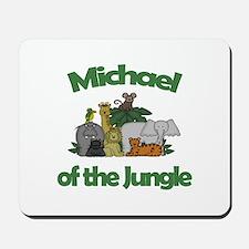 Michael of the Jungle Mousepad