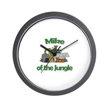 Mike of the Jungle  Wall Clock
