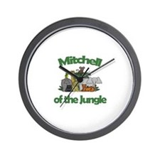 Mitchell of the Jungle  Wall Clock