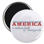 A Nation Built by Immigrants Magnets (100 pk)