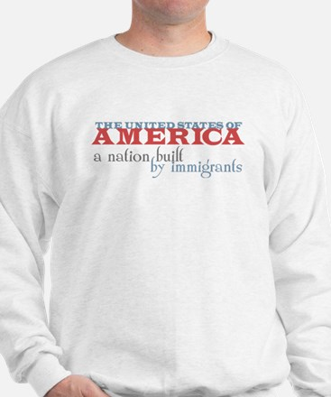 A Nation Built by Immigrants Jumper