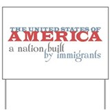 Pro immigrant Yard Signs