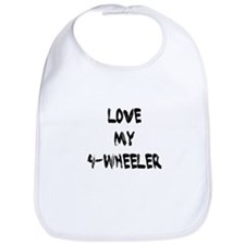 Love my 4 Wheeler Bib