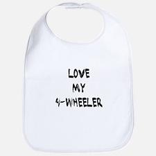 Love my 4 Wheeler Bib