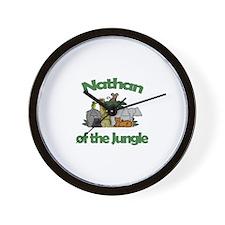 Nathan of the Jungle  Wall Clock