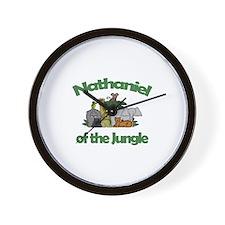 Nathaniel of the Jungle  Wall Clock