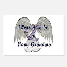 Blessed Navy Grandma Postcards (Package of 8)