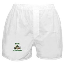 Nick of the Jungle  Boxer Shorts