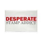 Desperate Stamp Addict Rectangle Magnet (100 pack)