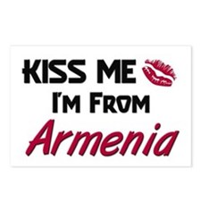 Kiss Me I'm from Armenia Postcards (Package of 8)