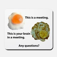 Brain in a Meeting Mousepad