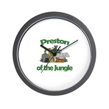Preston of the Jungle  Wall Clock