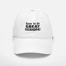 Soon To Be Great Grandpa! Baseball Baseball Cap