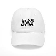 Soon To Be Great Grandpa! Baseball Cap