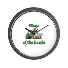 Ray of the Jungle  Wall Clock