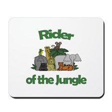 Rider of the Jungle Mousepad