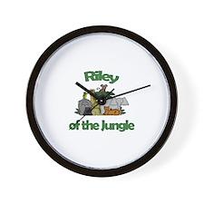 Riley of the Jungle  Wall Clock