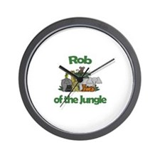 Rob of the Jungle  Wall Clock