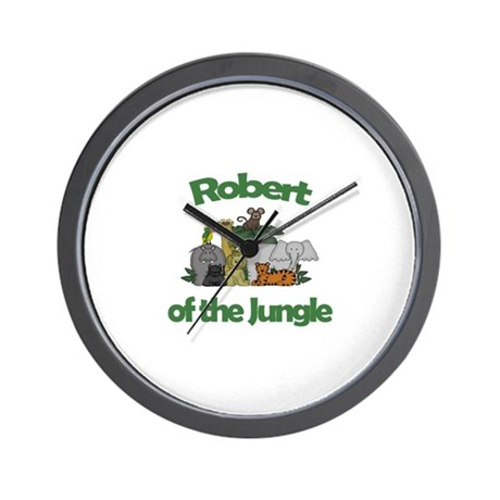 Robert of the Jungle Wall Clock