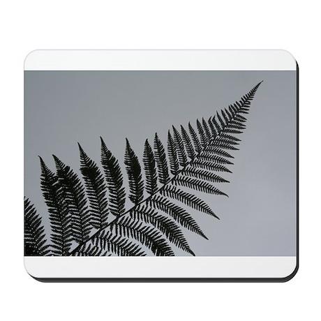 silver fern Mousepad