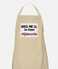Kiss Me I'm from Afghanistan BBQ Apron