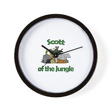 Scott of the Jungle  Wall Clock