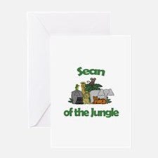 Sean of the Jungle Greeting Card
