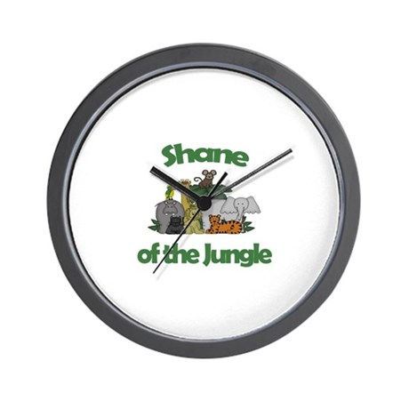 Shane of the Jungle Wall Clock