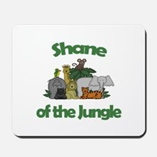 Shane of the Jungle Mousepad