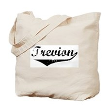 Trevion Vintage (Black) Tote Bag