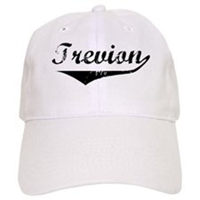 Trevion Vintage (Black) Baseball Cap