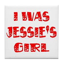 I Was Jessie's Girl Tile Coaster